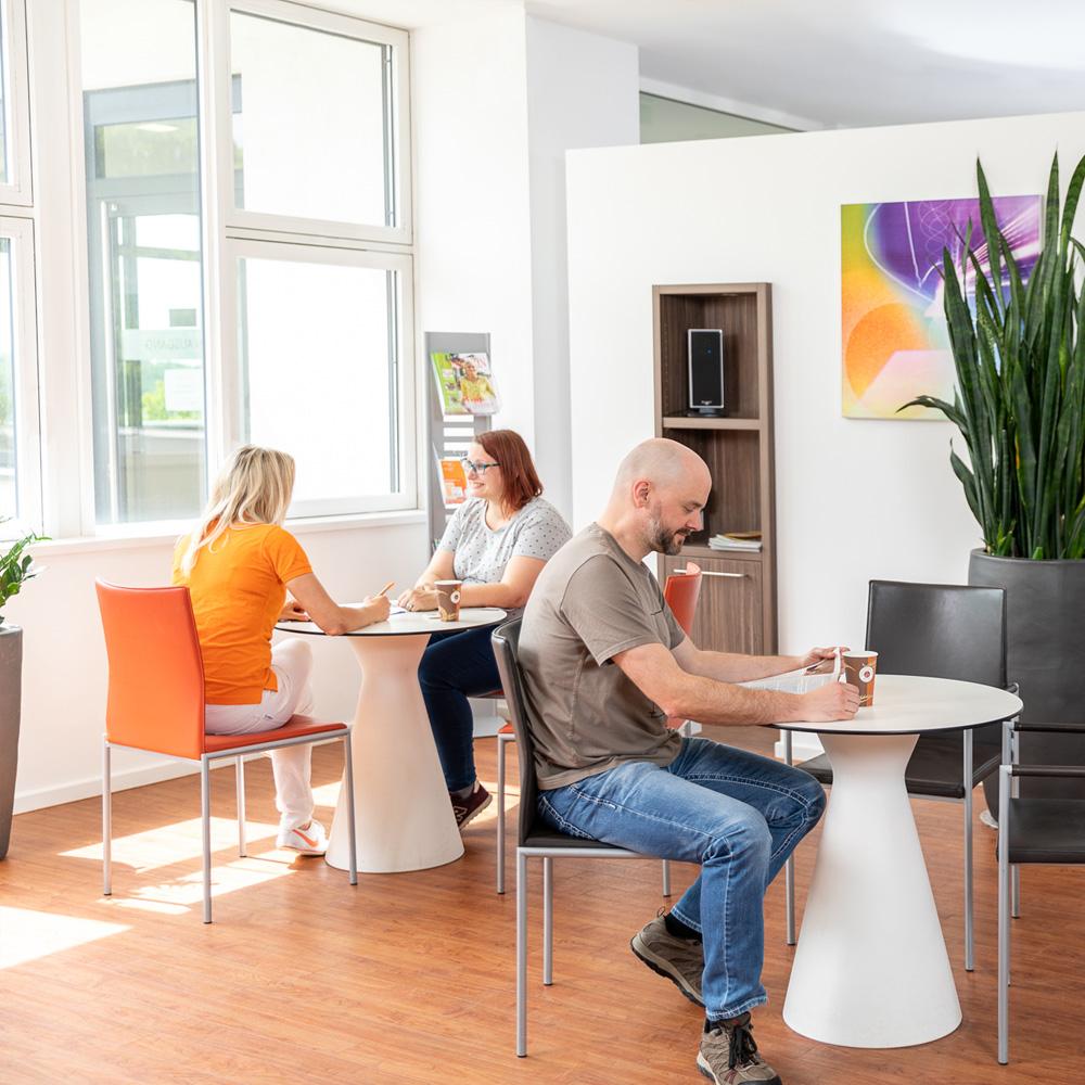Wartebereich - Strahlentherapie Duisburg